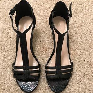 Black Nine West heels Women's size 7.5